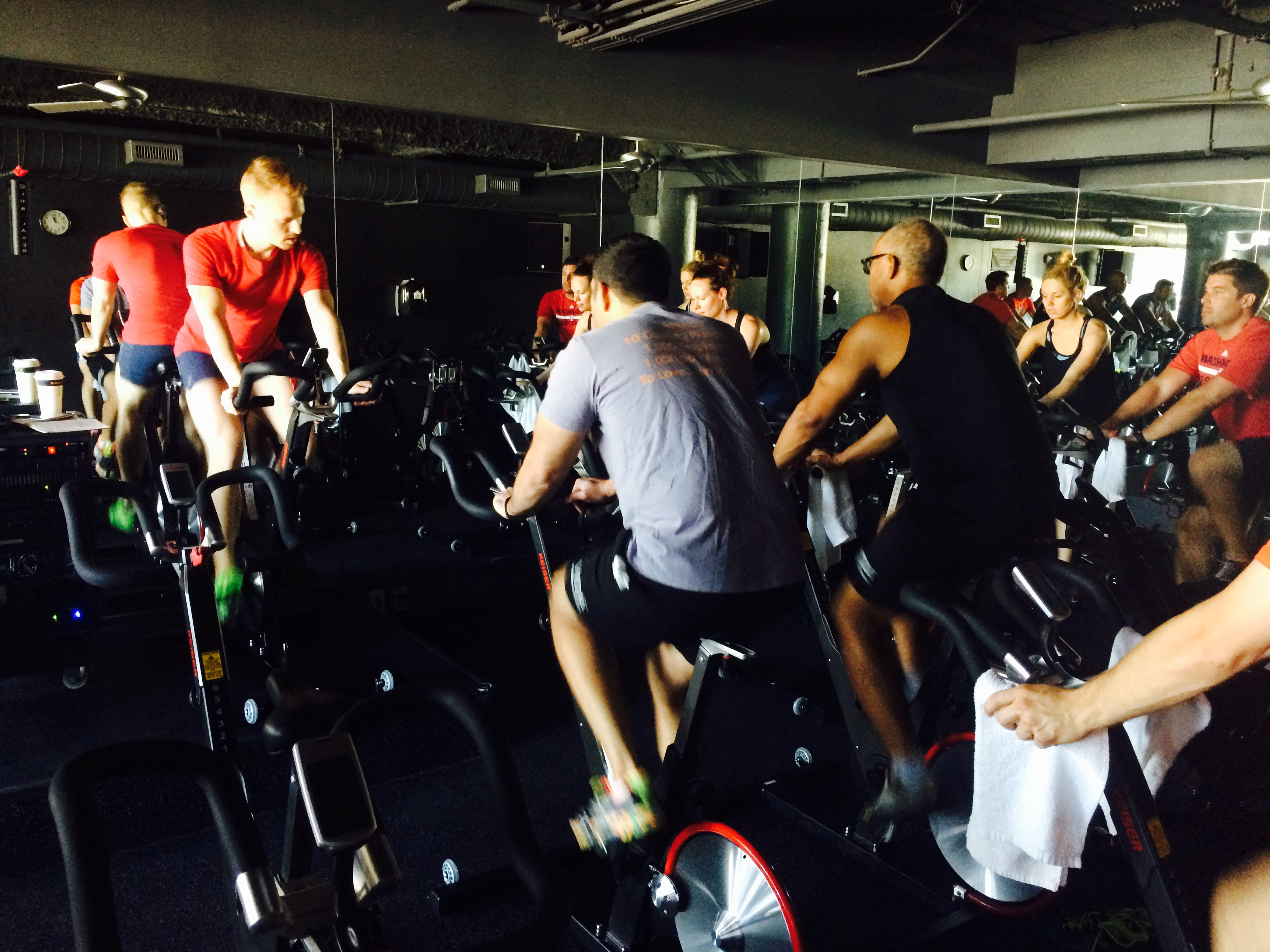The First Half Of Spin Sculpt Is Spent In Cycle Studio Getting An Intense